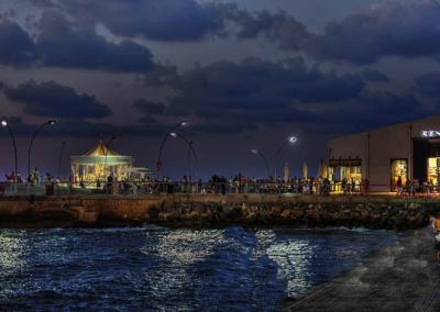 06 נמל תל אביב- נמל תל אביב בלילה ראשית