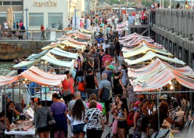 08 - נמל תל אביב - שוק האומנים